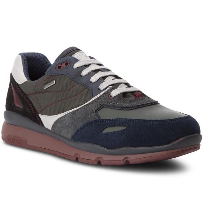 Sneakers GEOX U Sandford B Abx A U44S7A 020FU C4428 NavyDk Green