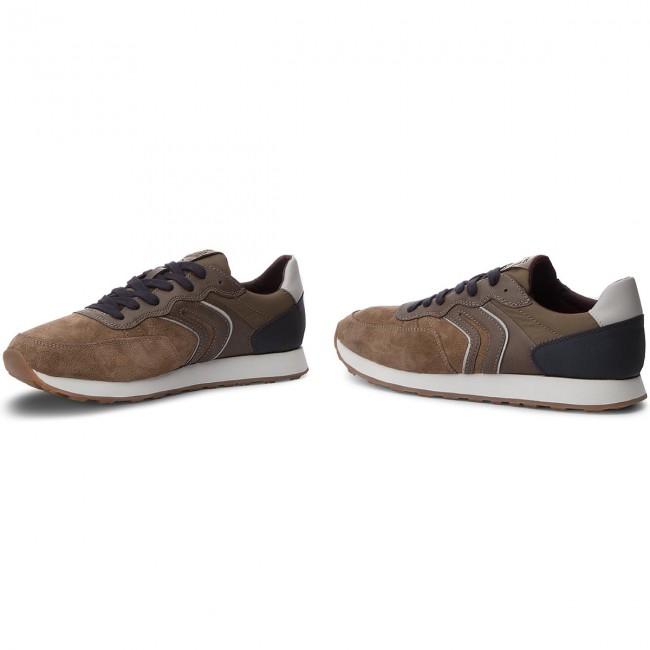 Sneakers GEOX U Vincit B U845VB 022V2 C6367 ChocolateNavy
