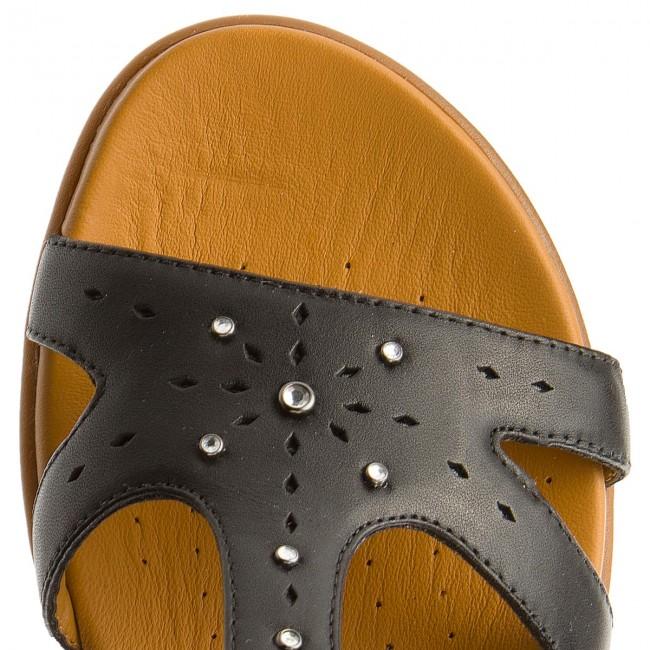 Sandali CLARKS - Un Reisel Mara 261332584 Black Leather