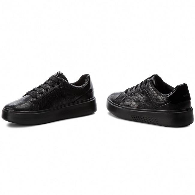 Sneakers GEOX D Nhenbus A D828DA 09DHH C9999 Black