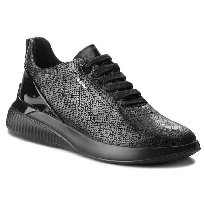 Sneakers GEOX D Theragon C D828SC 09DHH C9999 Black