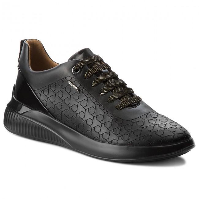 Sneakers GEOX D Theragon C D828SC 0BCHI C9999 Black