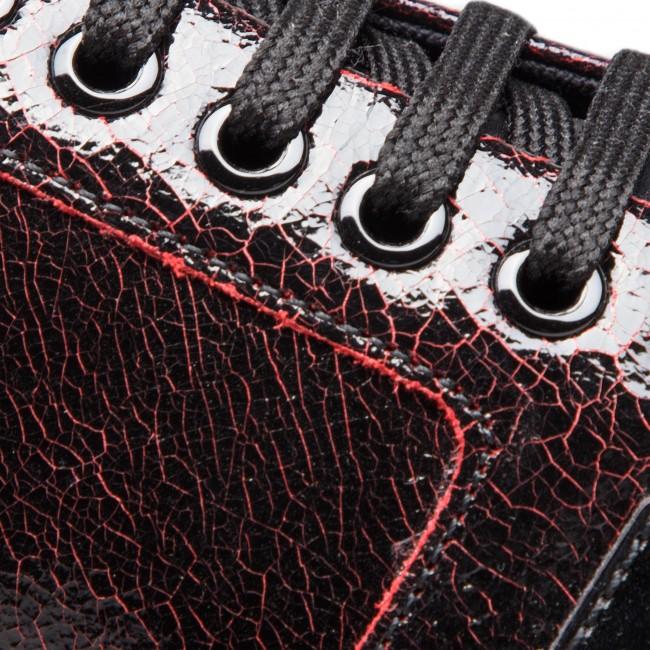 Scarpe basse GEOX D Thymar E D844BE 0ZKBC C0100 Dk RedBlack