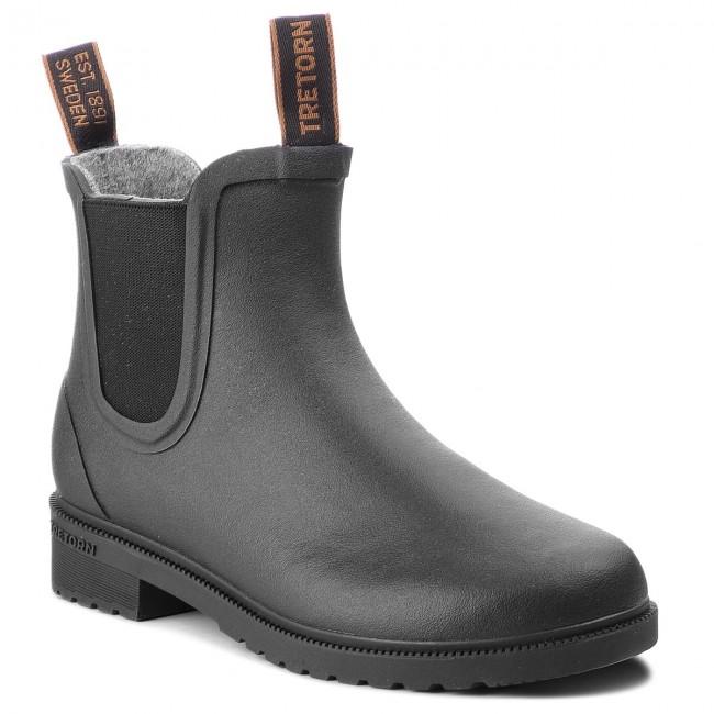 Wellington TRETORN - Chelsea Classic Wool 473417  Black 10