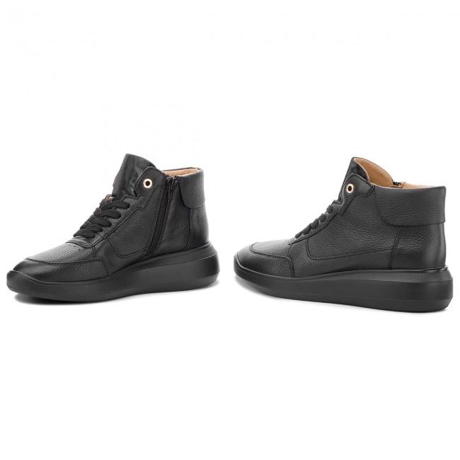 D Basse Rubidia D84apb C9999 Sneakers B Scarpe 00046 Black Geox Donna odrxBCe