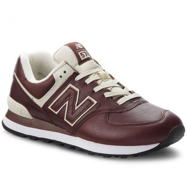 new balance 574 uomo marrone