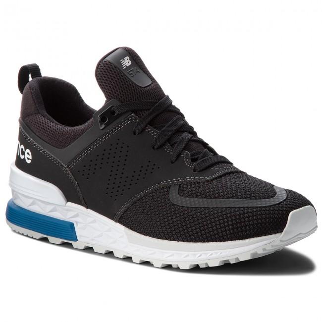 Balance New Scarpe Basse Uomo Nero Ms574pcb Sneakers IWEH92D