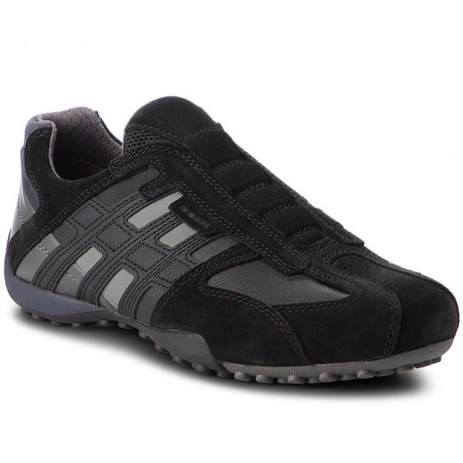 Sneakers GEOX U Snake L U4207L 022ME C9999 Black