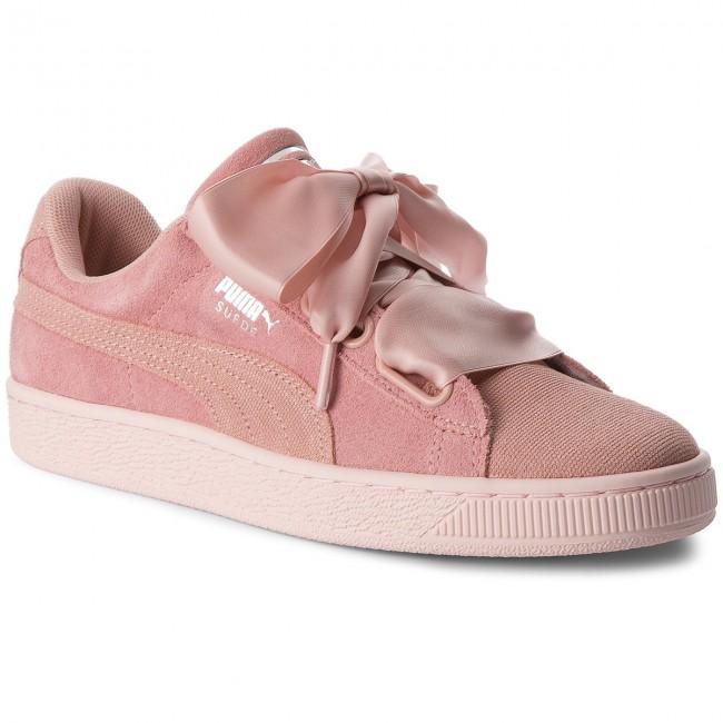 Sneakers PUMA Suede Heart Pebble Wn's 365210 01 Peach BeigePearl