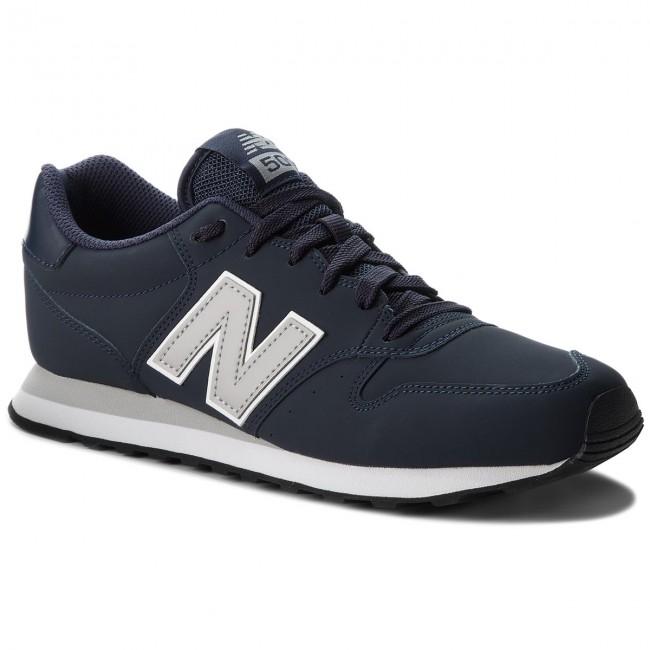 Basse New Sneakers Scuro Scarpe Gm500blg Balance Uomo Blu BeCxod