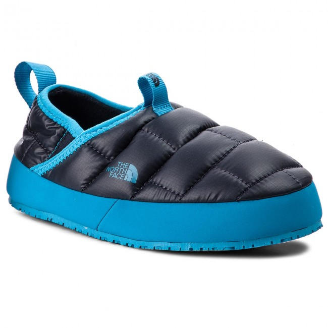 timeless design 8e32f 5b284 Pantofole THE NORTH FACE - Youth Thermal Tent Mule II T939UX8HF Shiny Urban  Navy/Hyper Blue