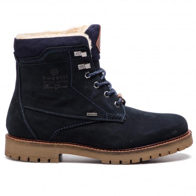 miglior valore alta moda prodotti caldi Scarponcini BUGATTI - 321-60051-1500-4100 Dark Blue - Scarpe da ...