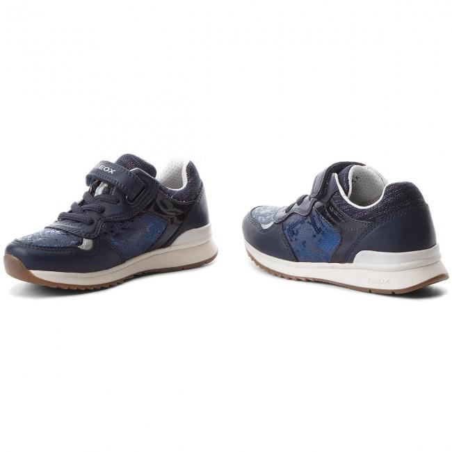 Bambino Bambina Emmaisi Navy Geox Con J824pa Scarpe GA Strappi Basse 0fnbc C4002 S Sneakers J edCoWxBQr