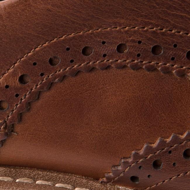 Scarpe basse CLARKS Batcombe Wing 261271917 Dark Tan Leather