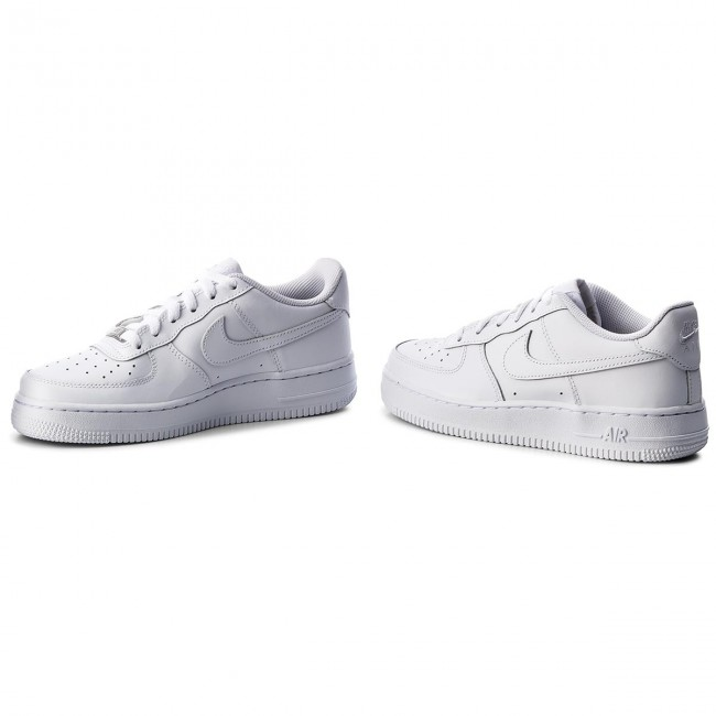 Scarpe NIKE Air Force 1 (Gs) 314192 117 WhiteWhiteWhite