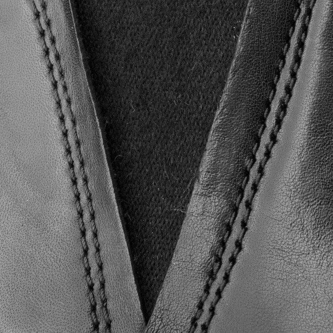 Chelsea CLARKS - Orabella Ruby 261349594 Black Leather - Chelsea - Stivali e altri - Donna