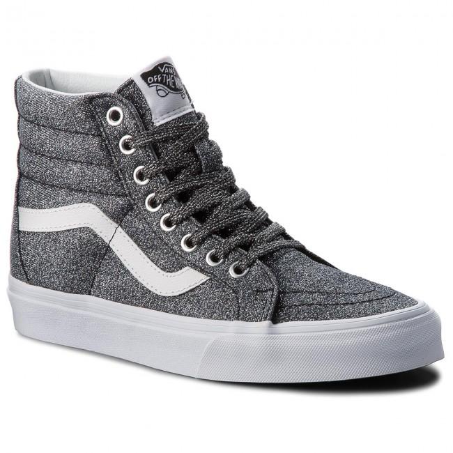 Sneakers VANS Sk8 Hi Reissue VN0A2XSBU3T (Lurex Glitter) BlackTru