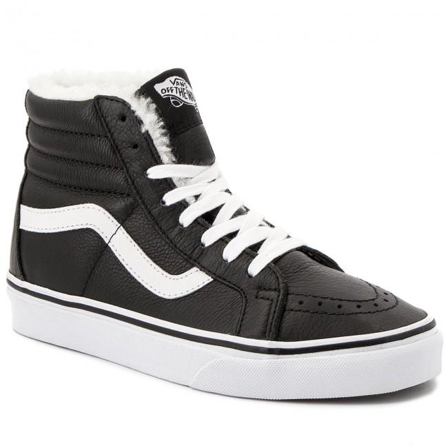 Sneakers VANS Sk8 Hi Reissue VN0A2XSBEU11 (LeatherFleece) BlkTrwht