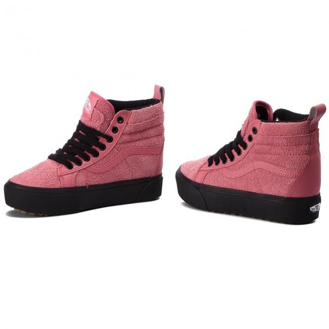 Sneakers VANS SK8 Hi Platform M VN0A3TKOUCE (Mte) Desert RoseBlack