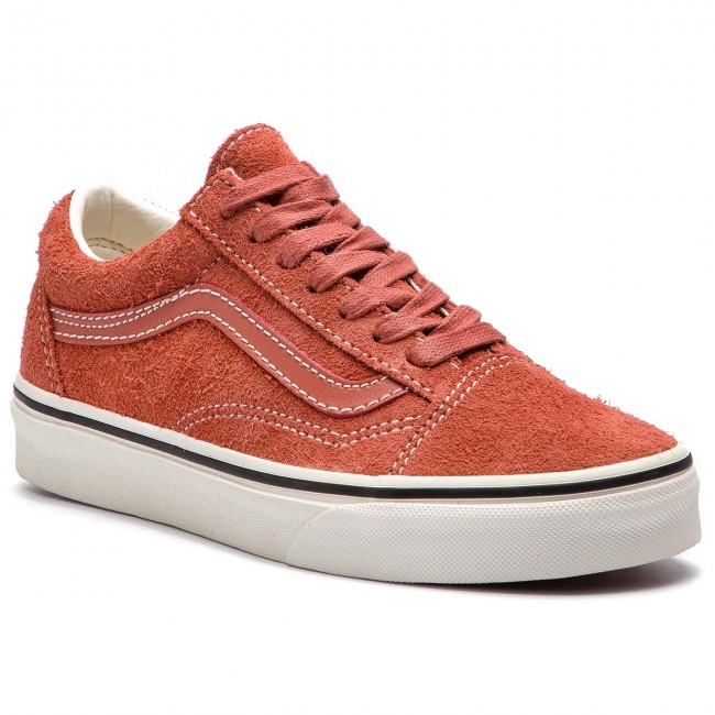 Scarpe sportive VANS Old Skool VN0A38G1UNG1 (Hairy Suede) Hot SauceS