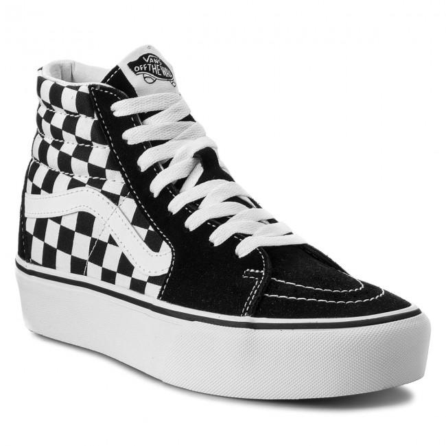 Sneakers VANS Sk8 Hi Platform 2 VN0A3TKNQXH CheckboardTrue White