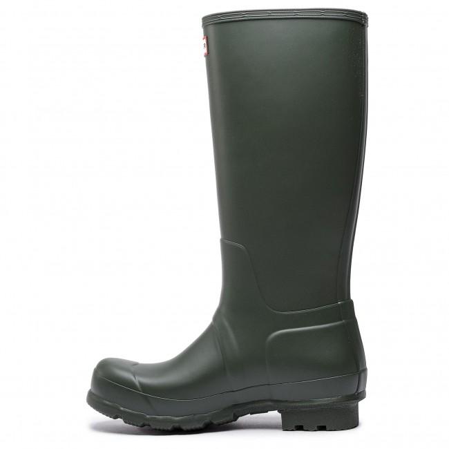 Wellington HUNTER - Oryginal Tall MFT9000RMA Dark Olive - Stivali da pioggia - Stivali e altri - Donna