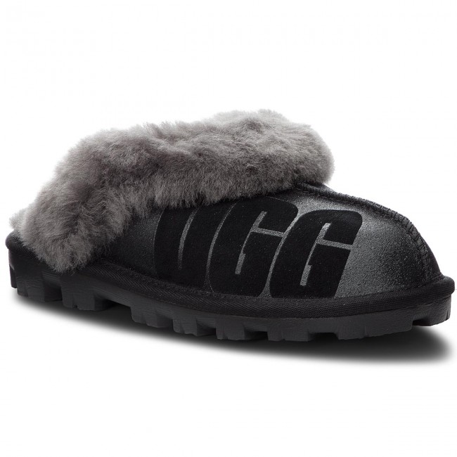 newest collection 83ffd 186bc Pantofole UGG - W Coquette 1098190 W/Blk