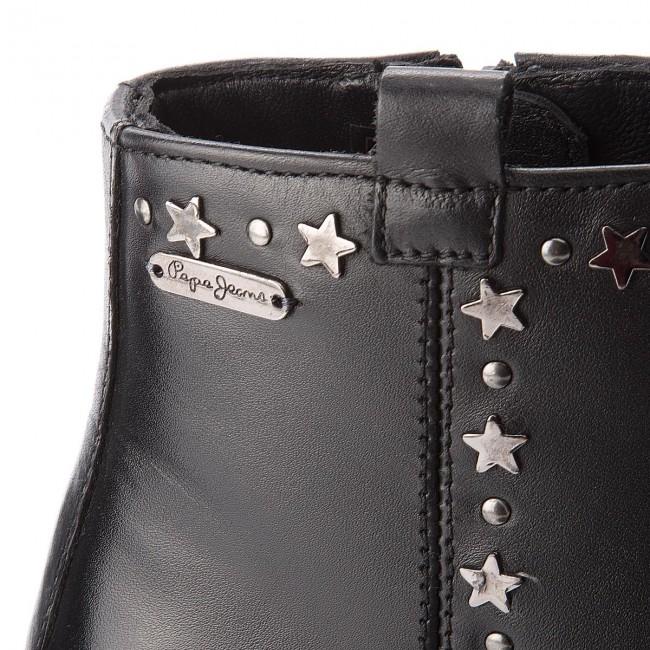 E Jeans Pls50312 Tronchetti Waterloo Pepe Donna Stivali Stars Black 999 Altri ikXZOPu