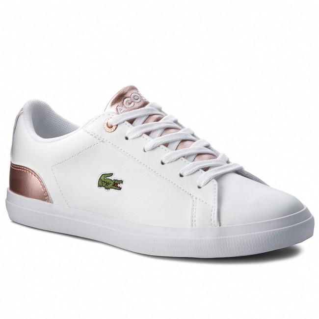 6f70a9d3233913 Sneakers LACOSTE - Lerond 318 3 Caj 7-36CAJ0014B53 Wht/Pnk - Sneakers -  Scarpe basse - Donna - escarpe.it