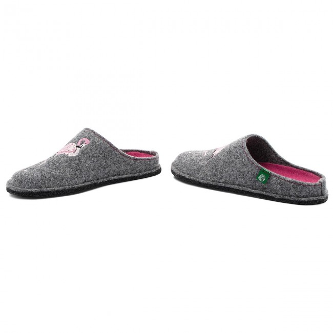 Pantofole DR. BRINKMANN - 320544 Grau 9 - Pantofole - Ciabatte e sandali - Donna