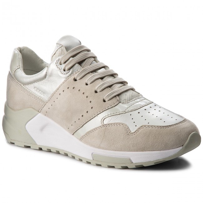 Sneakers Basse Geox Phyteam Avorio Donna Economici :