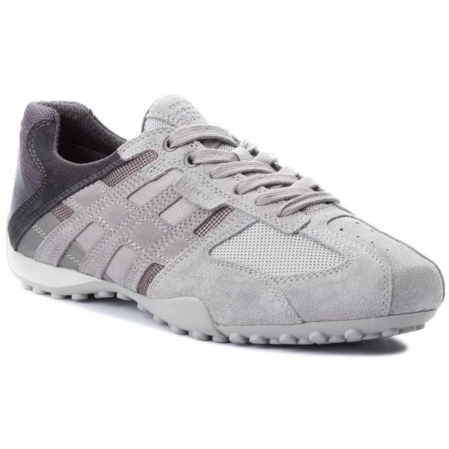 Sneakers GEOX U Snake E U8207E 02214 C1415 Lt GreyStone