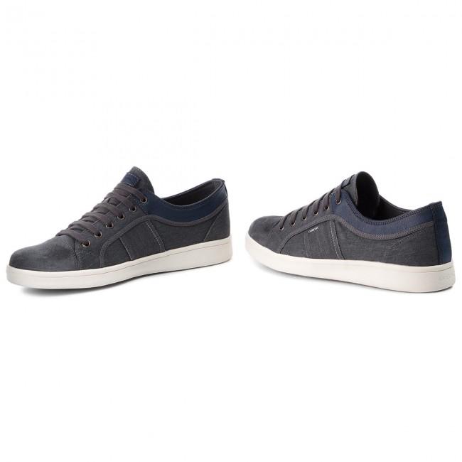 B Geox Basse U Uomo U820lb Warrens C9002 Sneakers 0nb22 Dk Scarpe Grey BoCxeQrdEW