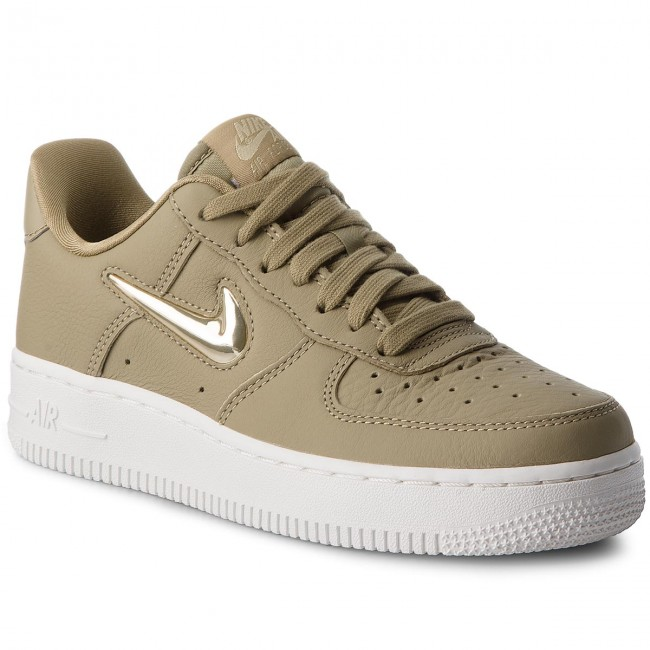 Scarpe NIKE Air Force 1 '07 Prm Lx AO3814 200 Neutral OliveMtlc Gold Star