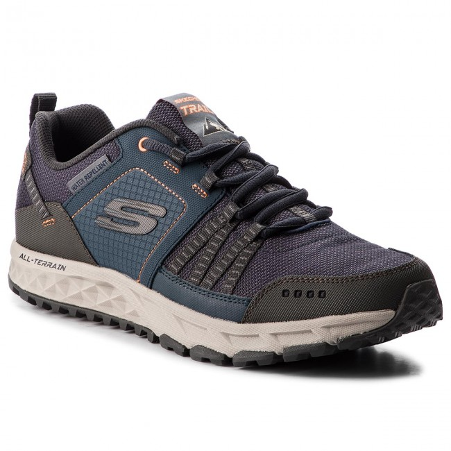 Scarpe da trekking SKECHERS - Escape Plan 51591/NVOR Navy/Orange