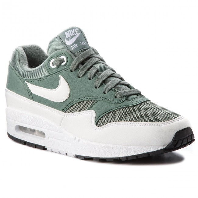 Nike Air Max 1 Clay Green White Women's | 319986 303