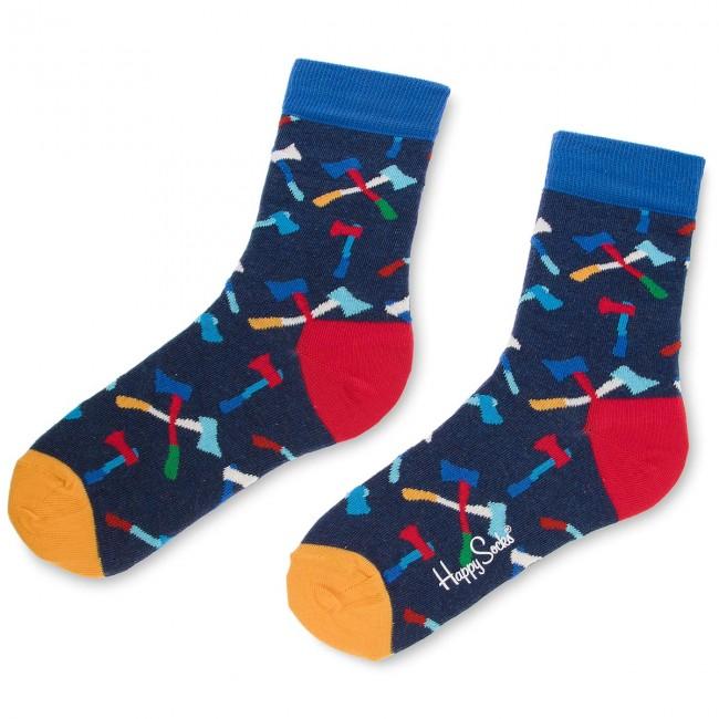 Donna Blu Multicolore Happy 6000 Tessili Lunghi Socks Accessori Unisex Axe01 Calzini Scuro AL3q54Rj