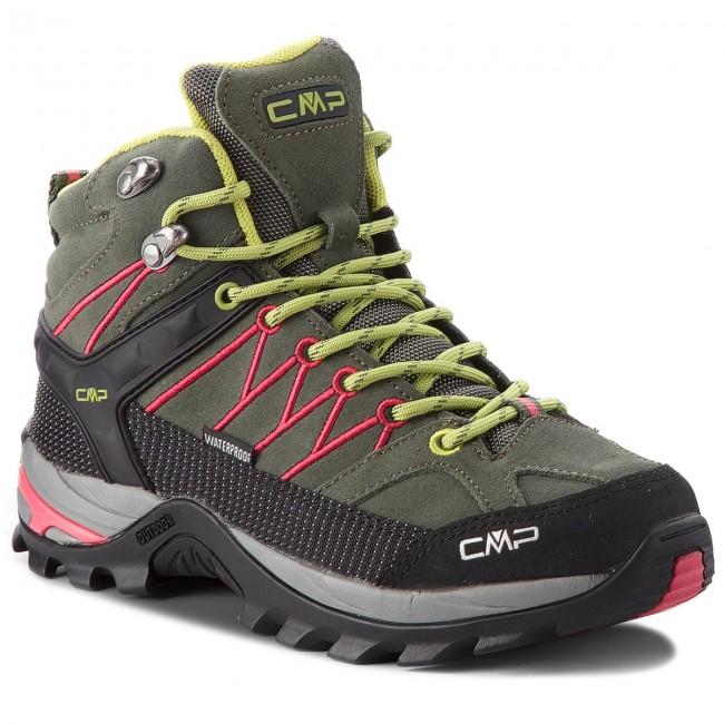 Scarpe da trekking CMP escarpe it verdi Pelle