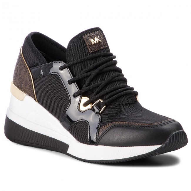 Sneakers MICHAEL MICHAEL KORS - Liv Trainer 43F8SCFS3D  Black