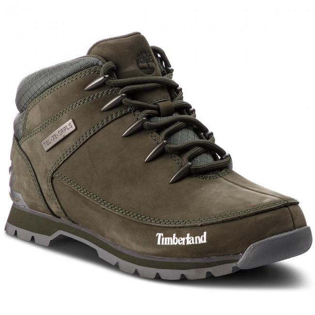 44bcd88572ef79 Scarponcini TIMBERLAND - Euro Sprint Hiker A1VR9/TB0A1VR9A581 Grape Leaf - Scarpe  da trekking e scarponcini - Scarpe sportive - Uomo - escarpe.it