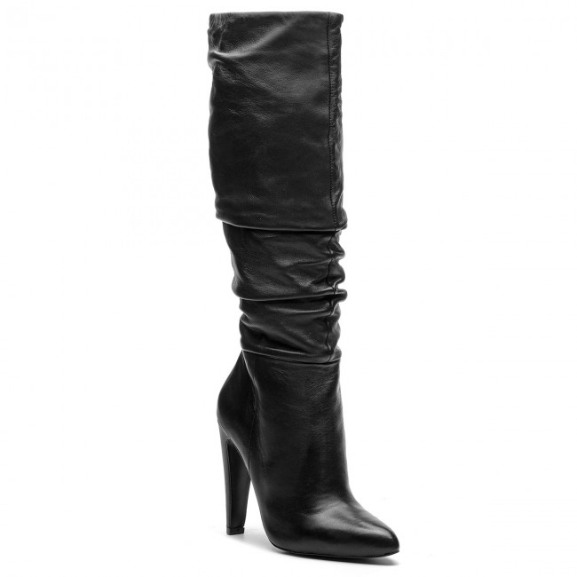Liquidazione del 60% vendita ufficiale qualità e quantità assicurate Stivali STEVE MADDEN - Carrie Boot SM11000130-03001-017 Black Leather
