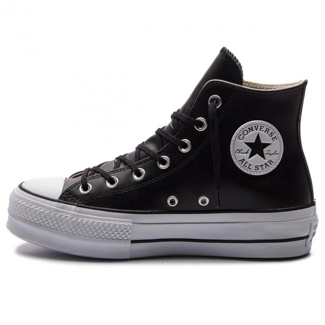 Scarpe da ginnastica CONVERSE - Ctas Lift Clean Hi 561675C Black/Black/White - Scarpe da ginnastica - Scarpe basse - Donna PYwu0