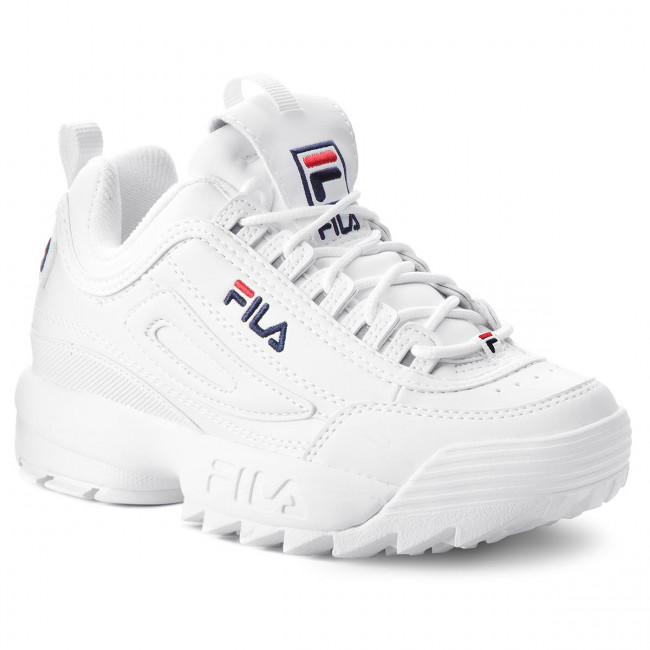 Sneakers FILA - Disruptor Wmn Low 1010302.1FG White