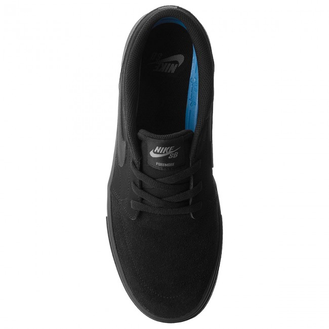 Da Sb Portmore Scarpe Basse Solar 880266 Ginnastica 005 black Ii Black Nike Uomo Pwk0OX8n