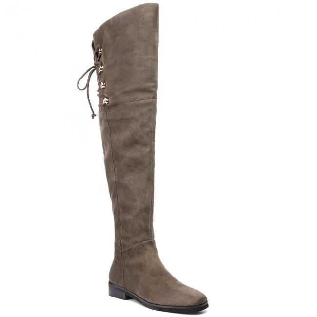 8c77557b35 Stivali sopra il ginocchio BRUNO PREMI - Camoscio U0102P Lapponia