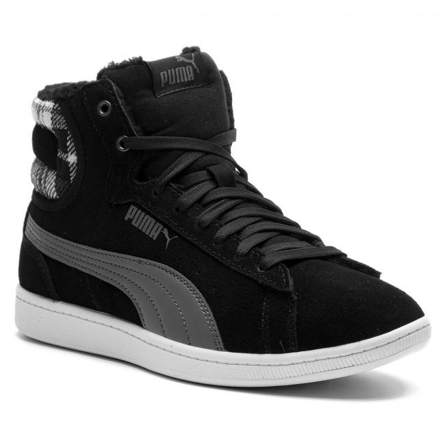 Sneakers PUMA Vikky Mid Cord 366813 01 Puma BlackPuma Silver