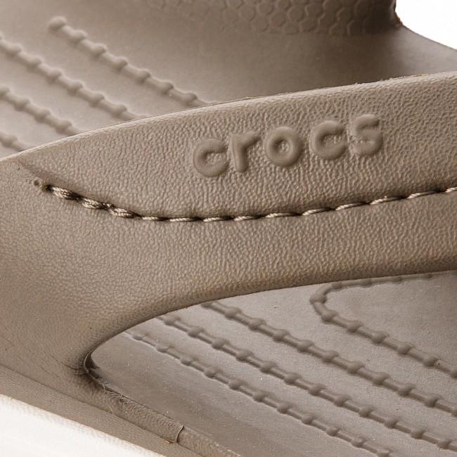 Eleganti Infradito Crocs Citilane Flip 202831 Marrone Uomo