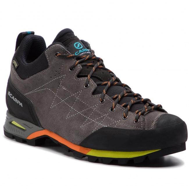 tecniche moderne qualità eccellente aspetto elegante Scarpe da trekking SCARPA - Zodiac Gtx GORE-TEX 71115-200 Shark/Orange