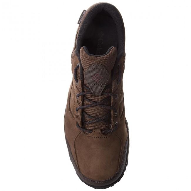 Scarpe Da Trekking Columbia - Ruckel Ridge Plus Waterproof Bm5522 Cordovan/madder Brown 231 E Scarponcini Basse Uomo