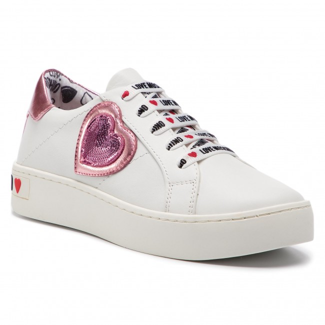 Sneakers LOVE MOSCHINO JA15133G17IA310B BiancoRosa